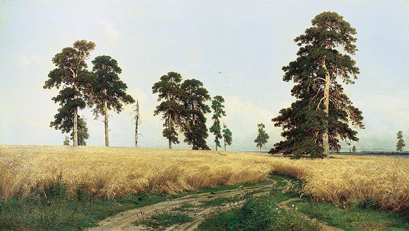 Shishkin-campo de centeno