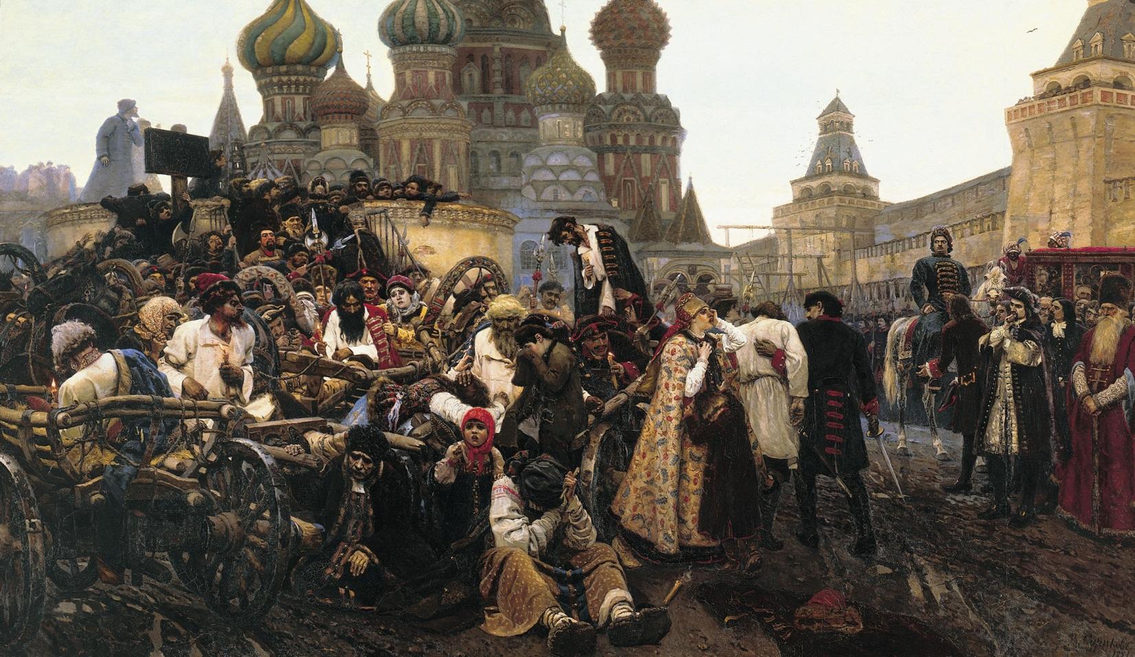 surikov-la manana de la ejecucion de los streltsy